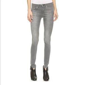 Rag & Bone Gray Skinny Jeans